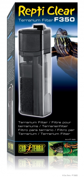 Repti Clear Terrarium Filter F350